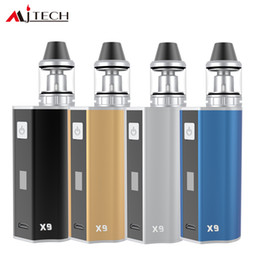 Wholesale Cigar Factory - Mjtech OLAX X9 kit 2017 New Arrival Ecigarette Vape Cigar Mod 80W NO 18650 BatteryVariable Voltage Factory Wholesale free shipping DHL