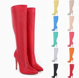 2019 sapatos qiu Qiu dong com seus fabricantes femininos vendendo botas femininas apontou um estilete botas com sapatos altos sapatos qiu barato