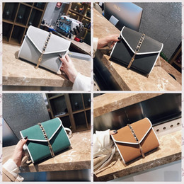 Wholesale New Korean Womens - New Female Small Bag Korean Fashion Chain Womens Envelope Bags Shoulder Crossbody