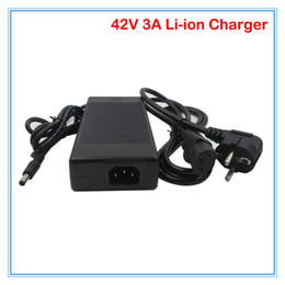 Wholesale Scooter Electric Charger - 42V 3A Li-ion charger DC Port 100-240VAC Used for 36V 37V 10S Electric bike e-scooter battery