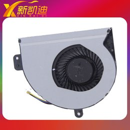 Wholesale Asus K53s - Wholesale- LAPTOP CPU FAN FOR ASUS original cooling fan for ASUS A43S X53S K43S K53S KSB06105HB Free shipping