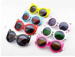 Wholesale Cool Baby Sunglasses - 2016 New Fashion Baby Kids Sunglasses Sport Style Brand Design Children Cool Sun Glasses 100% UV Protection