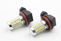 Luces de niebla intermitentes online-Coche LED Faros antiniebla H4 H8 H11 H7 9005 9006 5630-33 Luces antes de la explosión con un flash
