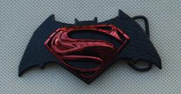 Супермен против Бэтмена Рассвет справедливости DC комикс пряжки ремня от
