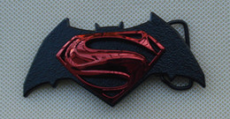 Argentina Superman Vs Batman Dawn Of Justice DC Cinturón hebilla de cinturón cheap batman belts Suministro