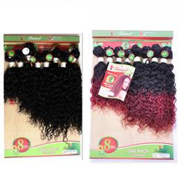 Wholesale Black Beauty Weave - Black Beauty Human Virgin Hair Extensions Kinky Jerry Curly Hair Weaves Bundles Black 1b Bug 1b 30 1 b Ombre Color Hair Bundles