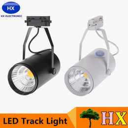 Wholesale Cooler Store - NEW 30W AC85-265V 2700LM COB LED Track Light Spotlight Lamp Adjustable for Shopping Mall Clothes Store Exhibition Office