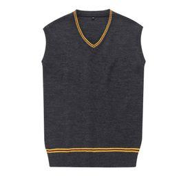 Wholesale Magic Vest - Wholesale Sweater V-neck Waistcoat Vest Uniforms Magic SweaterMagic Robe Cloak Cosplay Costume For Harry Potter