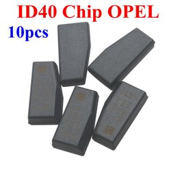 Wholesale Transponder For Chip - Factory price! ID 40 Transponder Chip For OPEL 10pcs lot Opel ID40 Transponder Chips High Quality Free Shipping