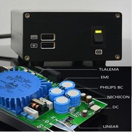 Wholesale 5v Power Amplifier - Freeshipping AC110V 220V 15VA USB DC 5V 9V 15V HIFI linear power supply