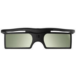 Wholesale Epson 3d Glasses Bluetooth - G15-BT Bluetooth Shutter Active 3D Glasses for Epson Samsung SONY SHARP Bluetooth 3D Projector TV