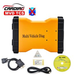 Wholesale Tcs Bluetooth - Wholesale-New 2016.R3 TCS MVD Multi Vehicle Diag without Bluetooth OBD2 Diagnostic Tool 2016 R3 New Same As TCS TCS PRO Pro