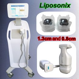 Wholesale Portable Scanner Ultrasound - liposonix portable body shaper slimming skin spa machine lipo hifu ultrasound scanner beauty therapy liposunix equipment
