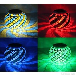 Wholesale Solar Pool Lights Balls - Fashion 2016 New Hot Sales Outdoor Solar Color Changing LED Lights Ball Pond Pool Garden Path Landscape