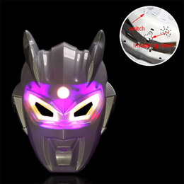 Wholesale Character School Supplies - new illuminate With music masks cartoon characters mask halloween Party Decoration Masquerade mask Festive Supplies masks for sale wholesale