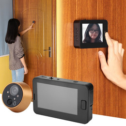 "Wholesale Doors Viewers - Hot New Wholesale 4.3"" TFT LCD Digital Doorbell Peephole Door Camera Camera Monitor Video Viewer B483"