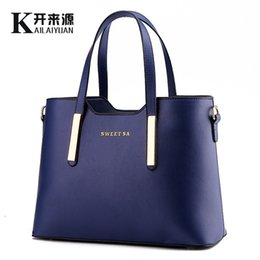 Wholesale Packaging Design Cell Phone - Woman Package 2016 New Pattern Bag Woman European Korean Finalize The Design Fashion Woman Package Messenger Single Shoulder Handbag