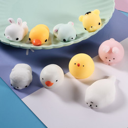 Wholesale Cute Cellphone Charms - Hot Squishy Slow Rising Jumbo Toy Bun Toys Animals Cute Kawaii Squeeze Cartoon Toy Mini Squishies Cat Squishiy For cellphone Gifts Charms