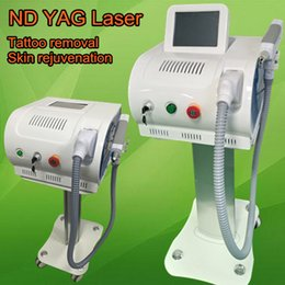 Wholesale Designing Tattoo Machines - 2017 NEWEST design nd yag laser tattoo removal machine eyebrow removing 2000mj high POWER fast result