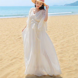 Wholesale Sissi Costume - Free ship white chiffon butterfly sleeve medieval dress sissi princess Medieval Renaissance Gown queen Costume Victorian  Marie