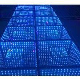 Wholesale Led Dance Floor Wedding - Wedding decorations light up video interactive starlit used 3D dj led dance floor for sale