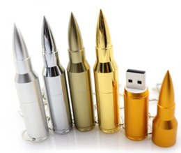 Wholesale 32gb Usb Flash Pen Drive - Metal pen drive Bullet usb stick usb flash drive 2GB 8GB 4GB 16GB pendrive flash card usb 2.0 U disk flash memory stick