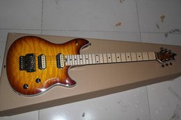 Wholesale Edward Van Halen - Edward Van Halen Sunset color Electric Guitar with Floyd Rose tremolo in Gold hardware
