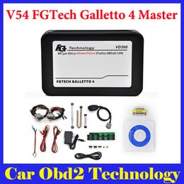 Wholesale Honda Ecu Programmer - 2016 Latest Version VD300 V54 FGTech Galletto 4 Master BDM-TriCore-OBD Function Fg tech V54 Free Shipping