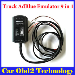 Wholesale Renault Man - New 9in1 Universal Adblue Emulator 9 in 1 Truck AdBlue Emulation Box For Mercedes MAN Scania Iveco DAF Volvo Renault Ford Cummins