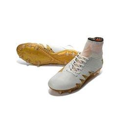 Wholesale Footbal Boots - 2017 Hot Neymar JR Soccer Cleats Mercurial Superfly FG CR7 Magista Obra Cristiano Ronaldo Cleats Neymar Footbal Shoes Soccer Boots