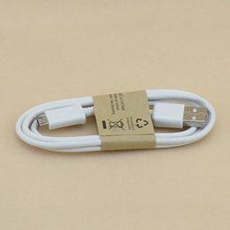 Wholesale Cheapest Android Cells - Cheapest 200pcs Micro USB Cable Mobile Phone Charging Cable 90cm USB2.0 Data sync Charge Cable for Android Cell Phone