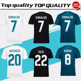 cf811d6cf6 Nfl jerseys online-Real Madrid Home white Soccer Jersey 17 18 CR7 Away  camiseta