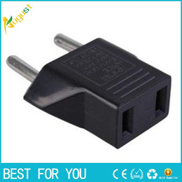 Wholesale Usa European Plug Adapter - 1PCS Universal US USA American to European EU Plug Converter Socket in Adapter Adaptor Travel Tomada de Parede Electrical Outlet