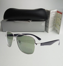 Wholesale Unisex Shades - Hot sell High Quality Outdoor Designer Eyewear UV Sunglasses Men women band shade Fashion unisex Retro sun glasses with original box