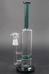 Conduite d'eau sans tige en Ligne-nouveau tube en verre bang Stemless avec Perc joint taille 18.8mm bongs