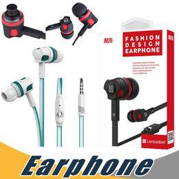 Wholesale Earphones For Lg Mobile - Langsdom JM26 Bass Earphone 3.5mm In Ear Headset with Mic Earphone For iPhone Samsung Mobile Phone with Retail Package