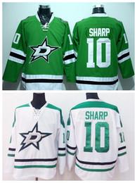 jersey tagliente a buon mercato patrick Sconti Patrick Sharp 10Dallas Stars Ie Hockey Maglie economici Patrick Sharp Jersey Uomo per gli appassionati di sport Pure Cotton Team Colore Verde Verde