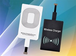 Wholesale Newest Smart Phones - Hot and wholesale Universal Qi Wireless Charger Newest Charging Adapter Receiver All smart phones are universal for wireless charging