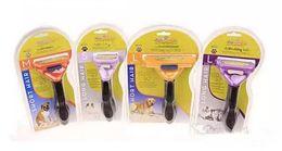 Wholesale Dog Pet Hair Clipper - Pet Dog Hair Trimmer Shedding Cat Dog Long Short Fur Hair Brush Comb Grooming Tool Free DHL