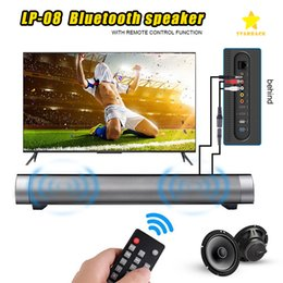Wholesale Mobile Phone Smart Card Reader - IP-08 Wireless Bluetooth Speaker Big Power Subwoofer Portable Bass HIFI Music Soundbar TF Card AUX For TV Smart Phone with Retail Package