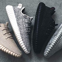 Wholesale Oxfords Summer Shoes - Wailly 1:1 Original Boosts 350 Shoes Turtle Dove Moonrock Pirate Black Oxford Tan 350 Shoes Size 13 Light Kanye West Shoes