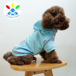 Wholesale Winter Water Factory - 2017 New factory direct selling pet dog clothes golden fur embroidery water drill short plush hoodie white princess wind