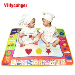 Wholesale Stamping Mats - 1 Pcs 80X60cm Water Doodle Mat & 2 Water Drawing Pen with 1 stamp for kids 1307STP