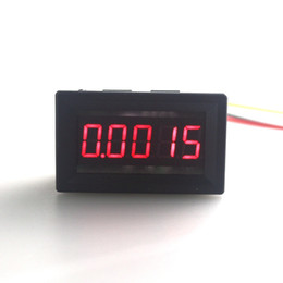 """Wholesale Digital Voltmeter Voltage Meter Car - Wholesale-Mini Car LED Display Digital Voltmeter DC 0-30V 0.36"""" 5 Digit Voltage Panel Meter Red 3 wires High Accuracy Free Shipping"""