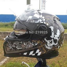 Wholesale Helmet Xxl Black - Arai Authentic LS2 helmet motorcycle helmet full helmet safety helmet black Genuine Abs+Pc material safety helmet