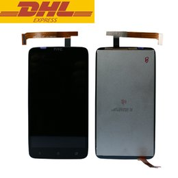 Wholesale One X Screen Lcd - For HTC Desire One X LCD Digitizer Touch Screen Display Assembly Top Grade Cellphone Touch Panels For HTC One X S720e G23