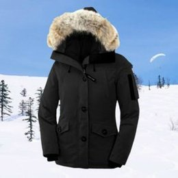 Wholesale Dressing Hats - Hot Fashion brand woman Casual Casual Down Jacket Down Coats woman Hooded Down Jacket Coat Feather dress Winter Coat outwear outer JACKETS.