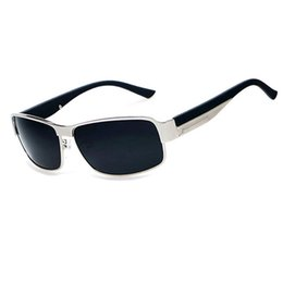 32932f7b47 Fashion Sunglasses Polarized Sunglasses for Men Outdoor Sports Driving  Sunglasses Casual Fishing Sun Glasses Big Square Metal Frame Eyewear