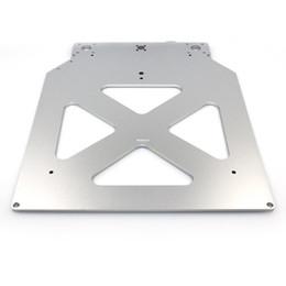 Wholesale Platform Brackets - Freeshipping Ultimaker 2 UM2 Z Table Base Plate platform bracket supporting aluminum heated hot bed plate 3D printer parts