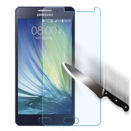 Wholesale Galaxy S3 Sale - Tempered Glass Screen For Samsung Galaxy A3 A5 A7 S3 S4 S5 S6 Can be Customized Screen Protector Protective Film Hot Sale